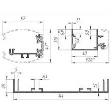 Алюминиевый профиль для световых конструкций